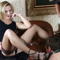 In the hands of blondes. Are you ready to experience any of freak orders of imperious babes?