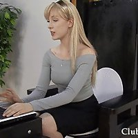 TP - Turned Into Her Office Toilet (Toilet Play)