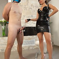 Goddess Ella's Cock and Ball Torture!