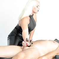 Chastity Release  -  Mistress Heather / Chastity / Leather