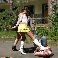 Young FemDom - Young Girls dominating Men!