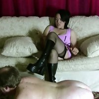 Cruel Asian Dominatrix