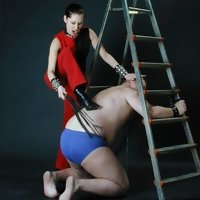 Corporal punishment is a good lesson for a misbehaved cuss