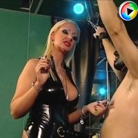 Femdom videos of cock and ball and nipple torture