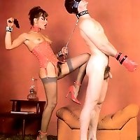 Vintage femdom picture