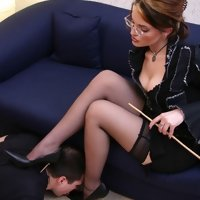 Blind submission is the main rule for earning Mistress's favour