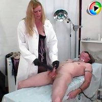 Insatiable Amazon torturing a male